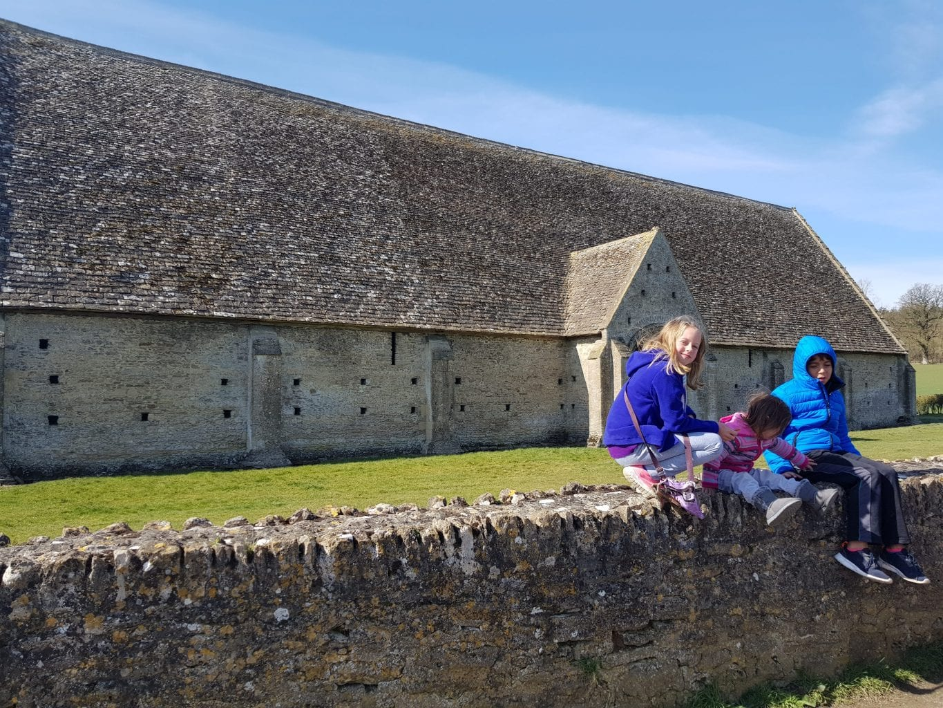 The Great Coxwell Tithe Barn