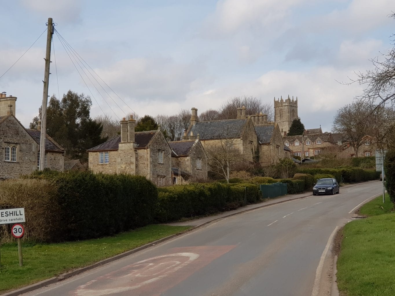 Coleshill in Oxfordshire