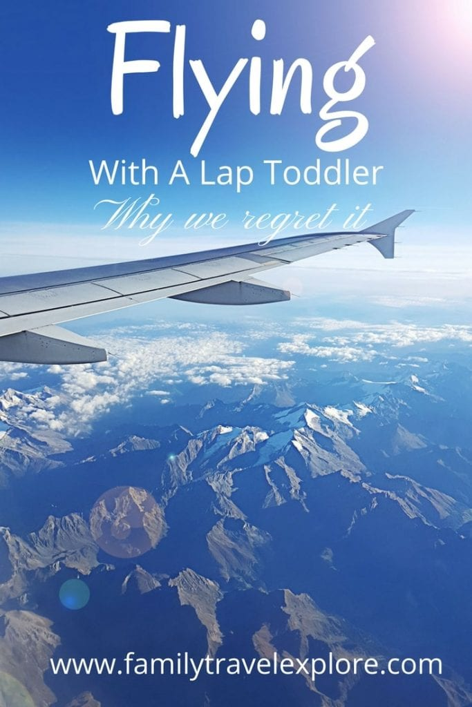 Flying With a Lap Toddler