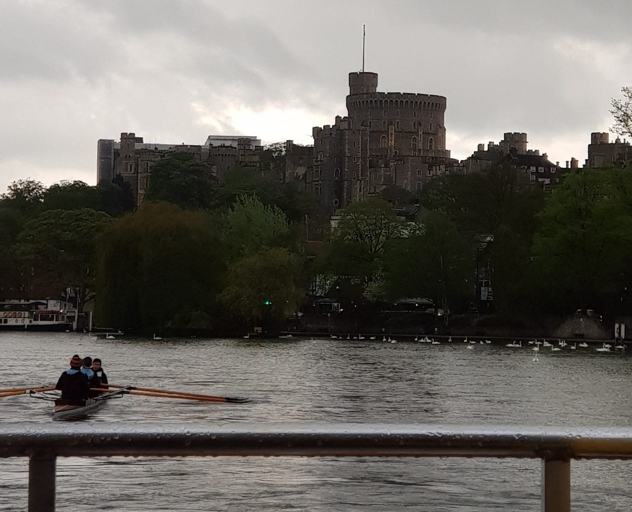 Windsor Castle view from the Thames