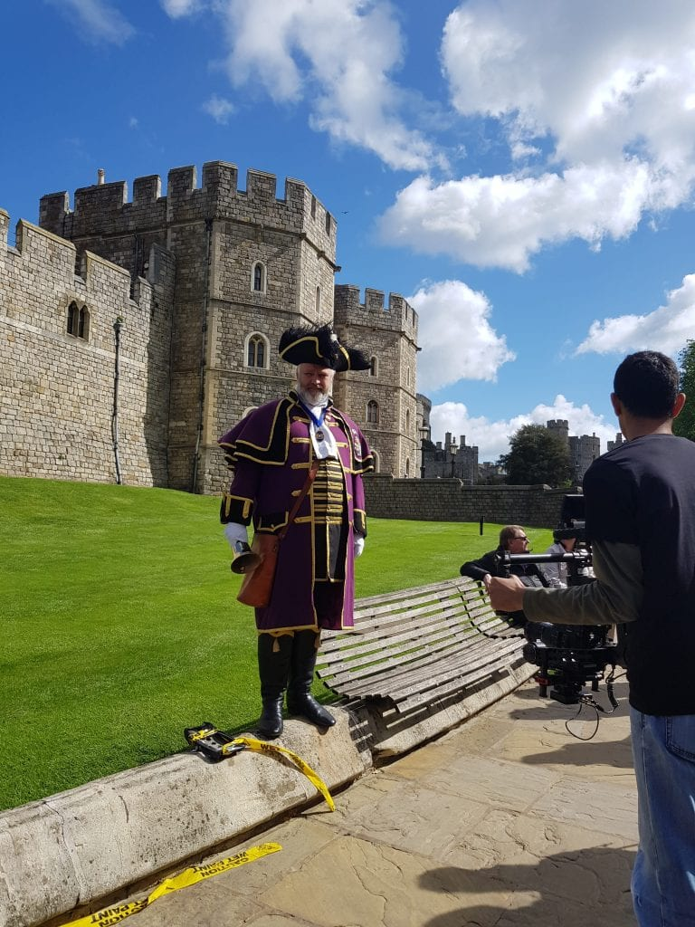 Official Town Crier of Windsor
