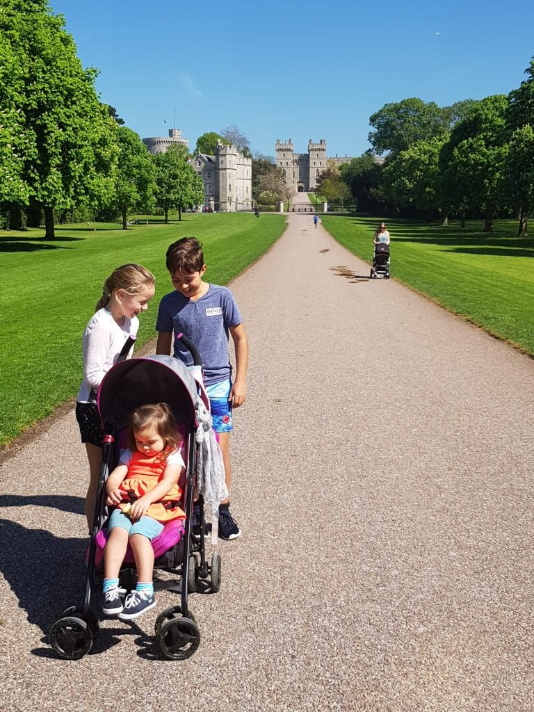 Windsor Castle's Long Walk