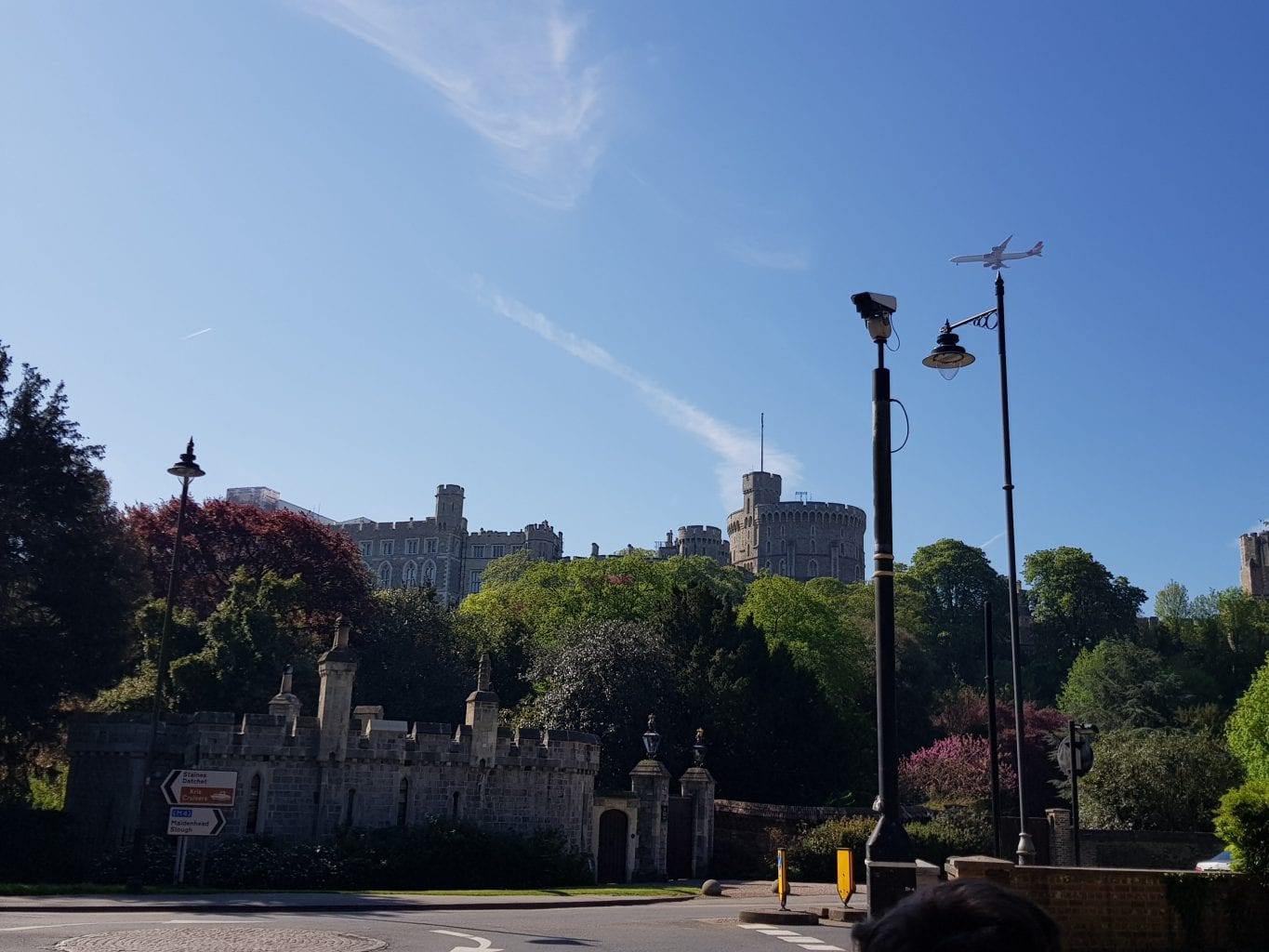 View of Windsor Castle from Home Park