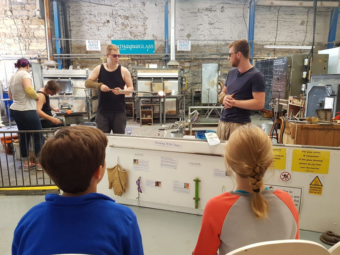 Bath Aqua Glassmaking Demo