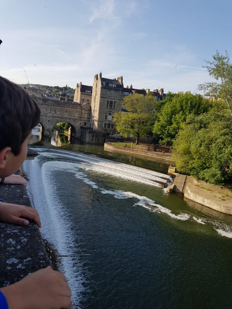 Bath Weir & Pulteney Bridge, Bath