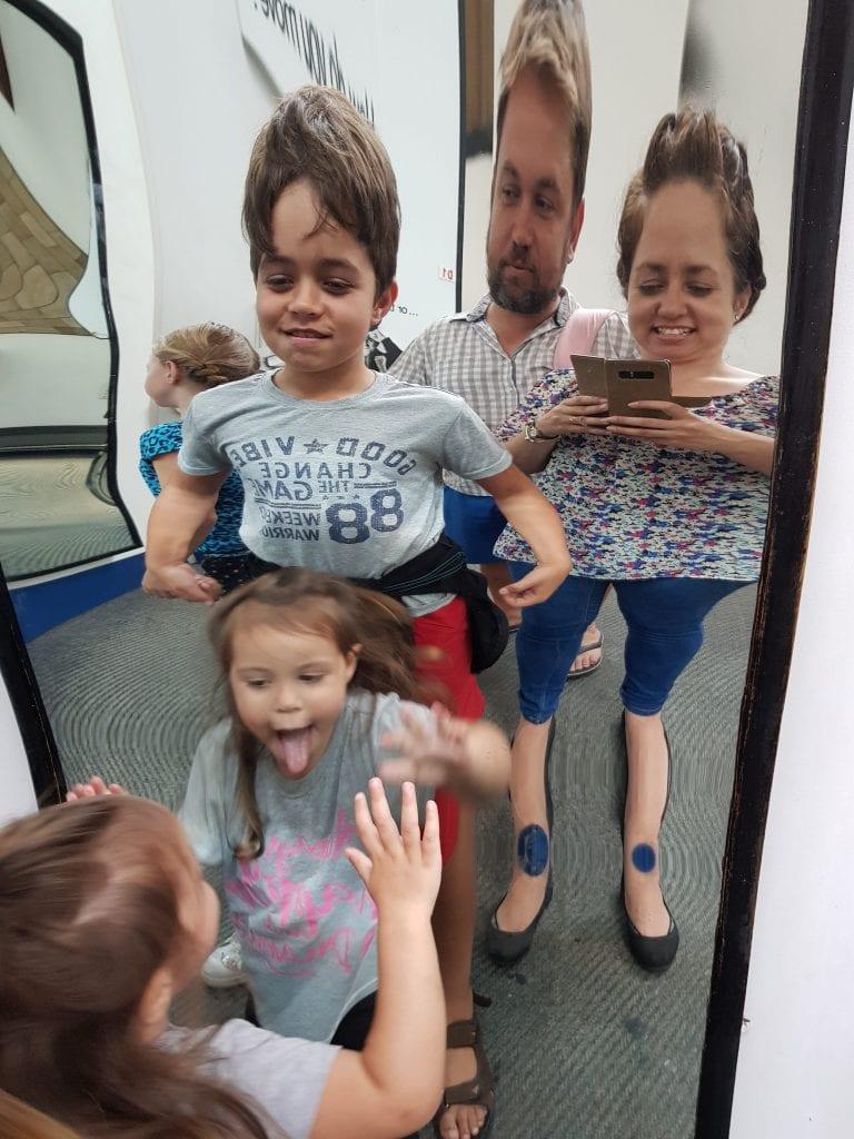 NHM London Funny Mirrors