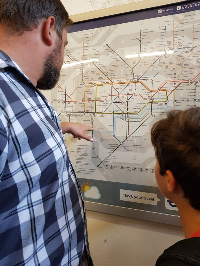 Figuring out Tube Maps for the London Underground