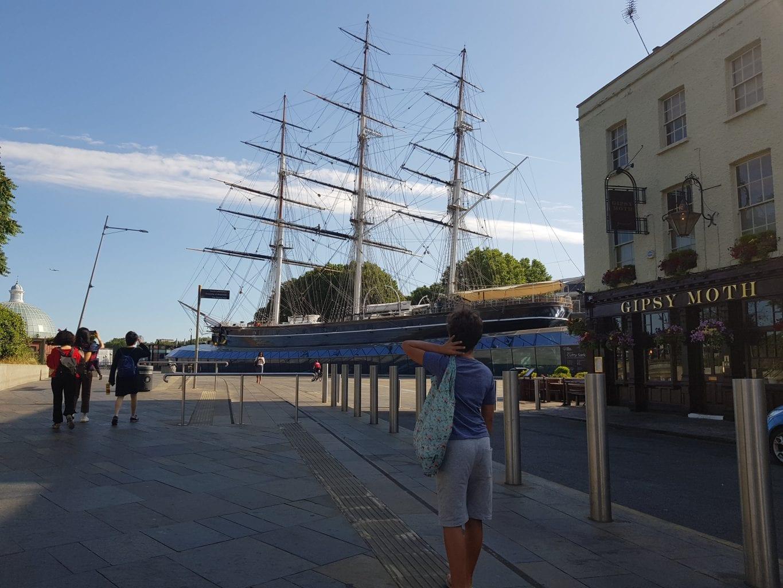 The Cutty Sark Clipper