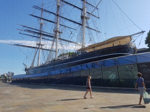 She is gorgeous. The Cutty Sark