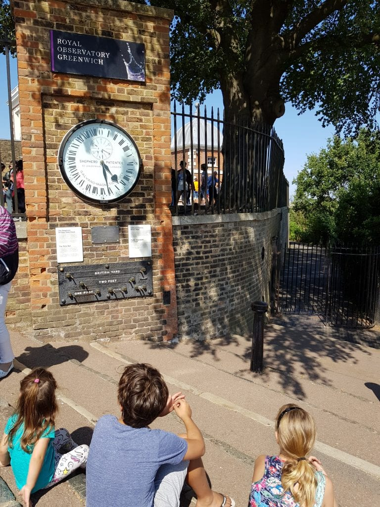 The Royal Observatory Greenwich the home of Greenwich Mean Time