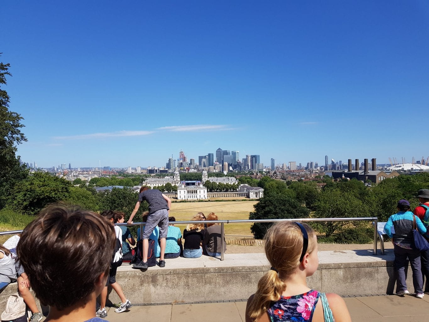 View from ROG in Greenwich Park
