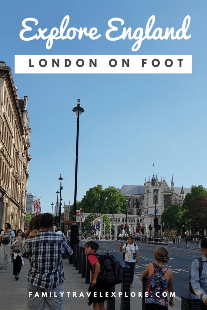 An Afternoon Walk Around London