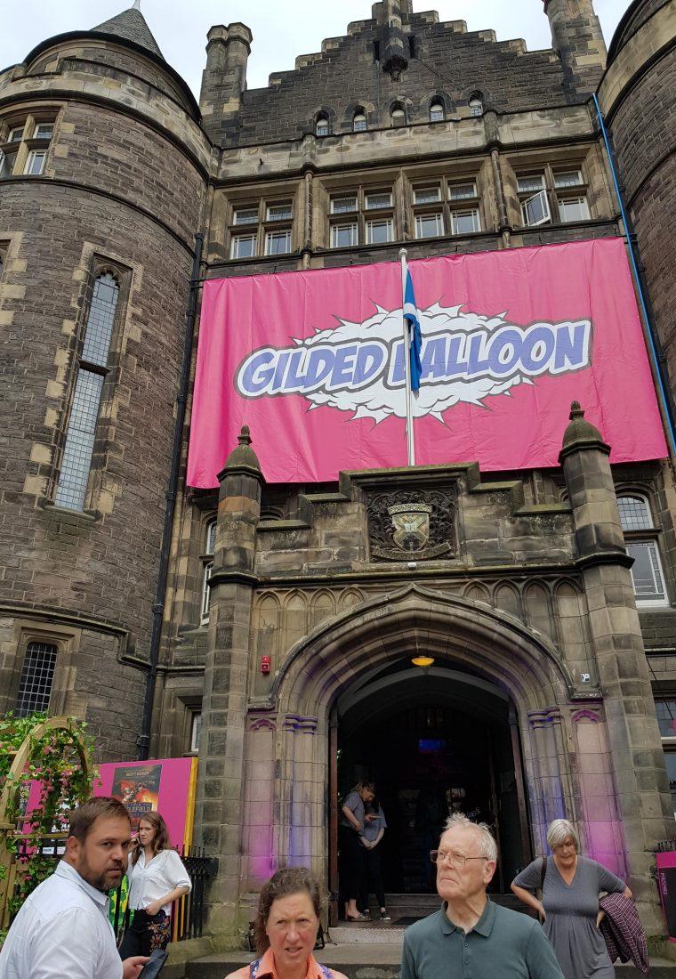 The Edinburgh Festival Fringe – Gilded Balloon Press Launch
