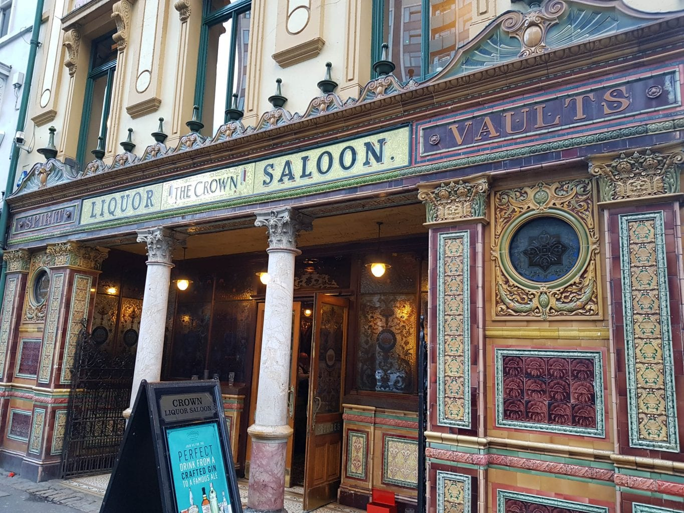 The Crown Liquor Saloon, Belfast