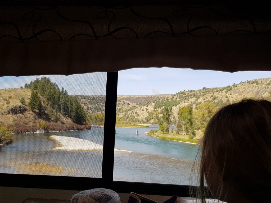 Driving from Arco to Jackson Hole via Idaho Falls