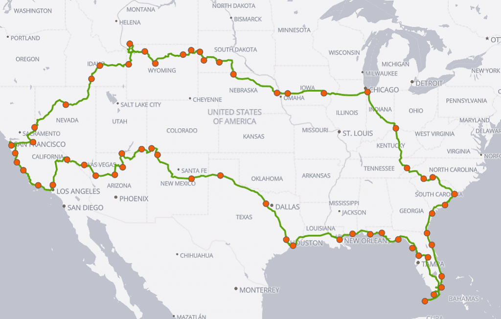 Family Travel Explore 90 Day RV Road Trip USA