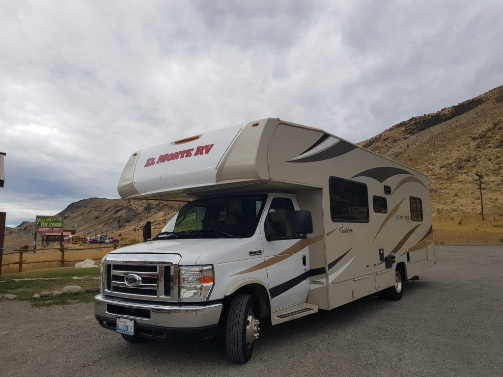 Gardiner, Montana. North Yellowstone