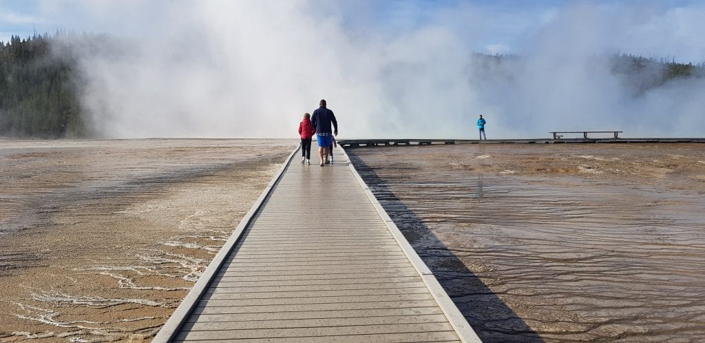 Mid-Way Geyser Basin, Yellowstone National Park