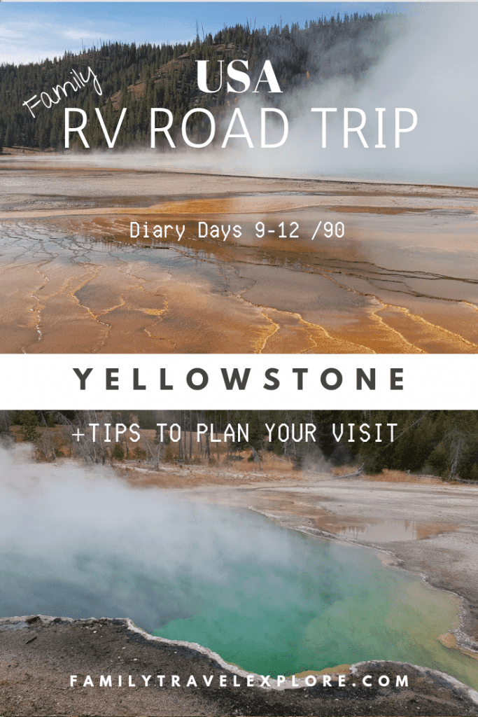 Tips to visit Yellowstone National Park