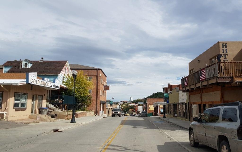 A town in South Dakota