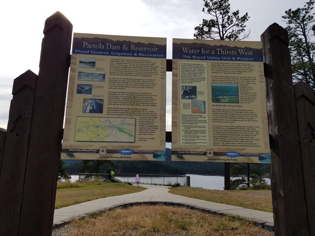 Pactola Dam & Reservoir, South Dakota