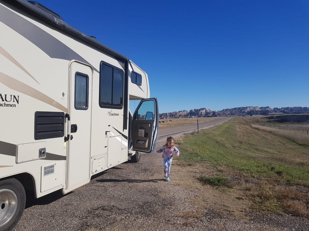 Family Travel Explore at Badlands NP