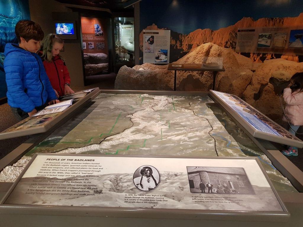 Visitor Center, Badlands National Park