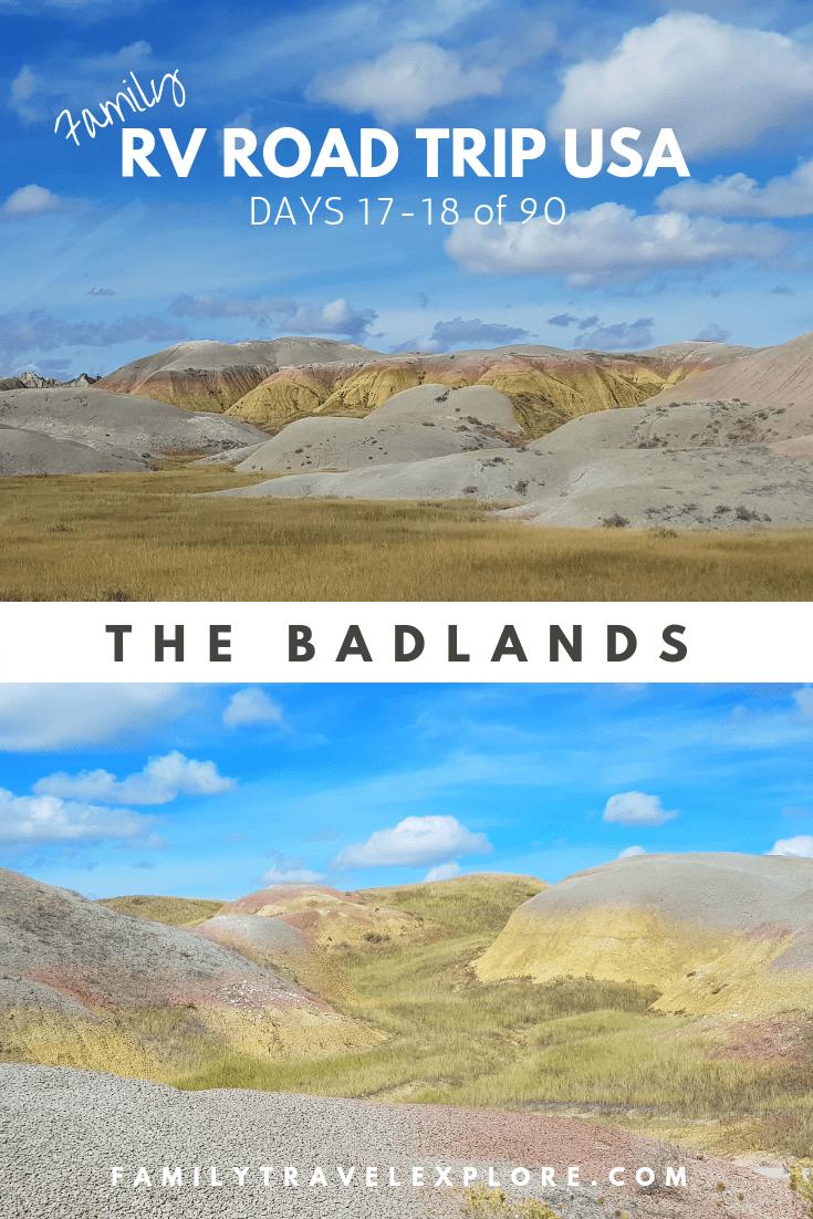 RV Road Trip USA -Days 17-18: The Badlands