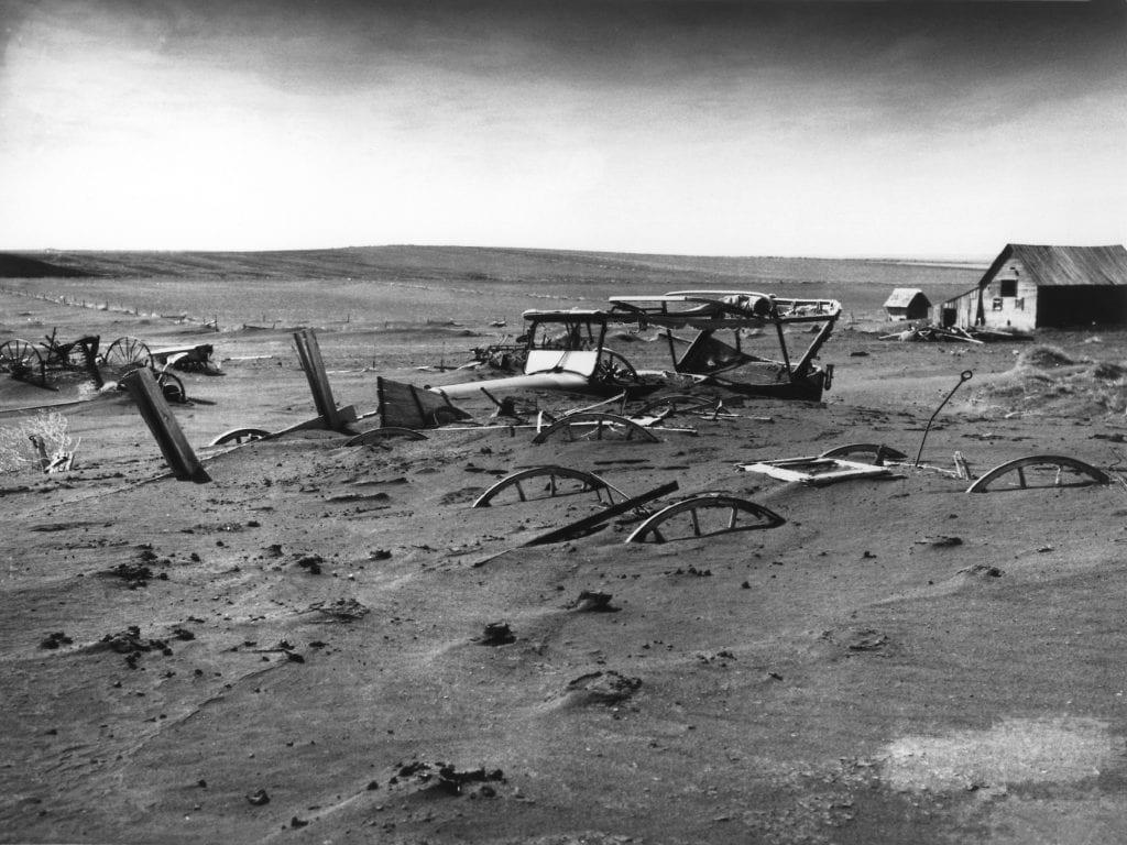 Dustbowl, Dallas, South Dakota, 1936