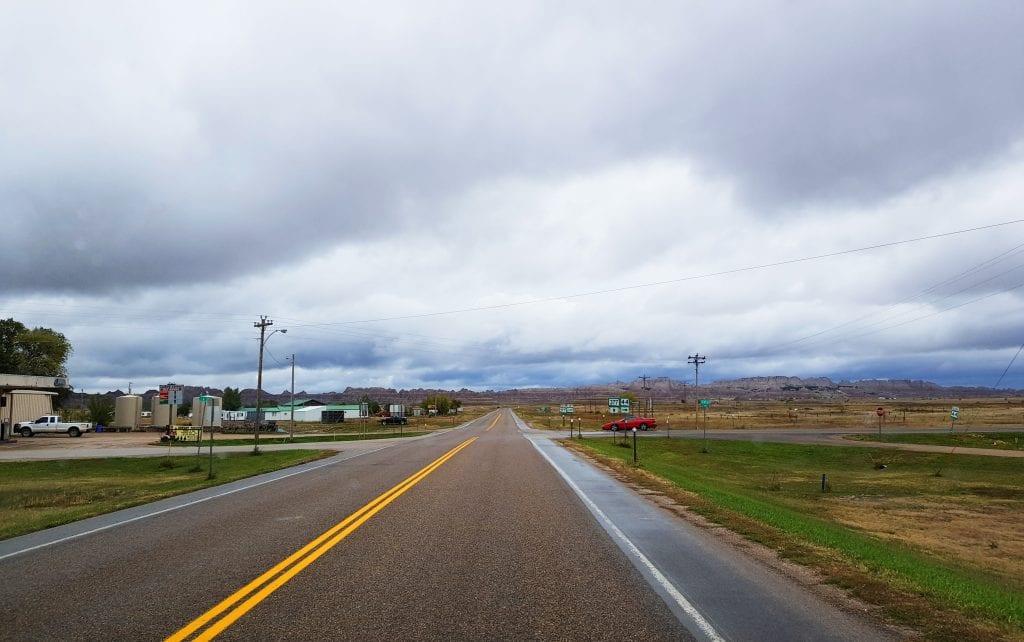 Interior - Badlands, South Dakota