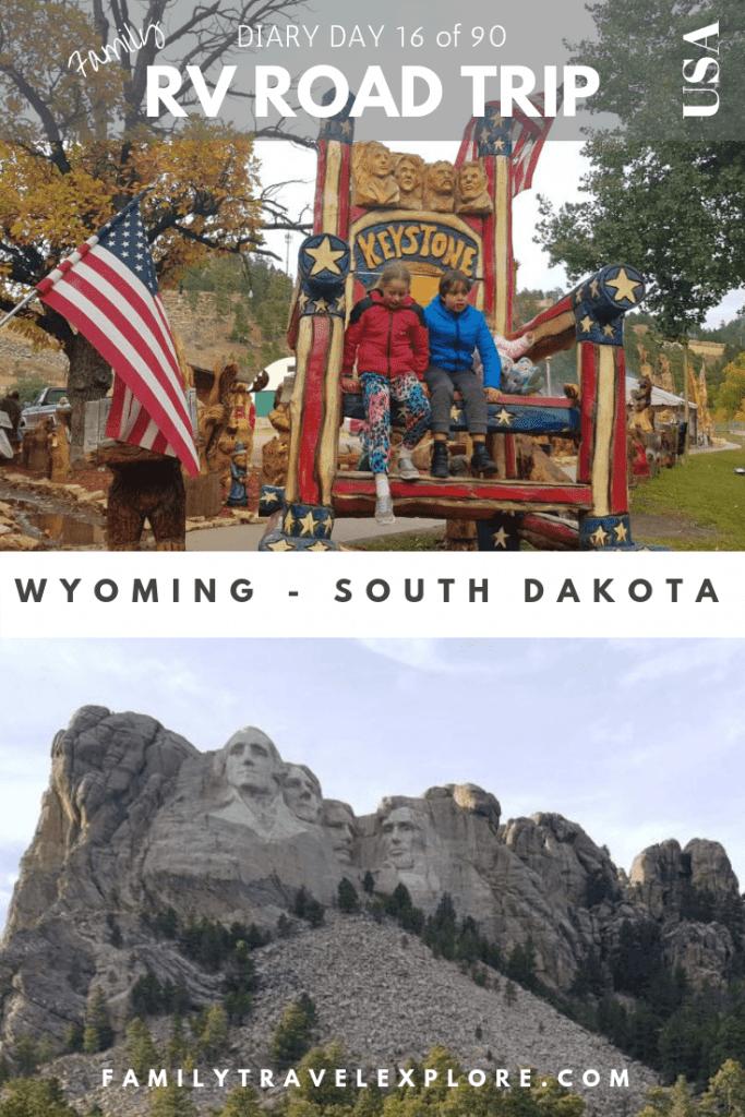 RV Road Trip USA - Wyoming to Mount Rushmore in South Dakota