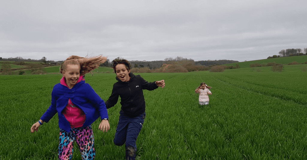 kids having fun family travel explore mat meg mel