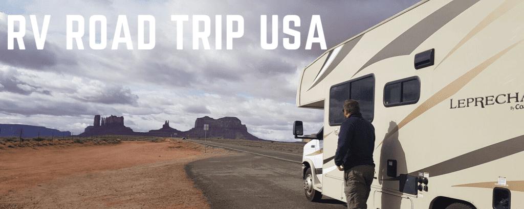 Rv road trip USA - Monument Valley - Family Travel Explore