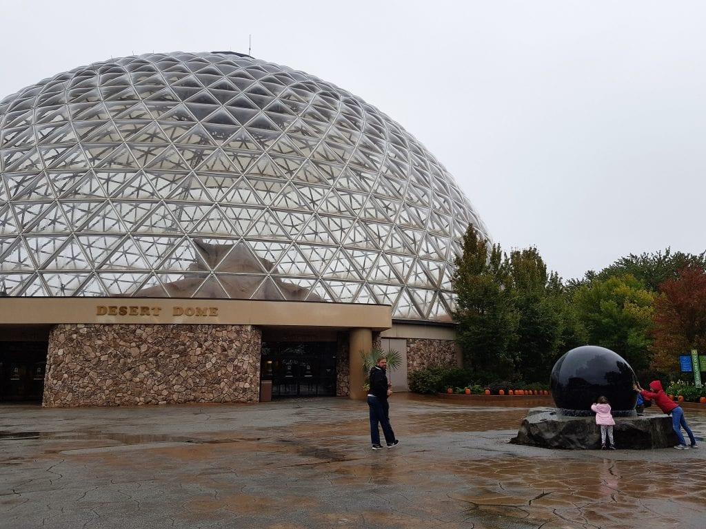 Family Travel Explore at Omaha's Henry Doorly Zoo - Desert Dome