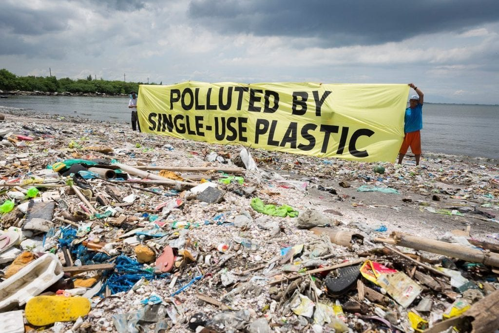 fight plastic pollution now