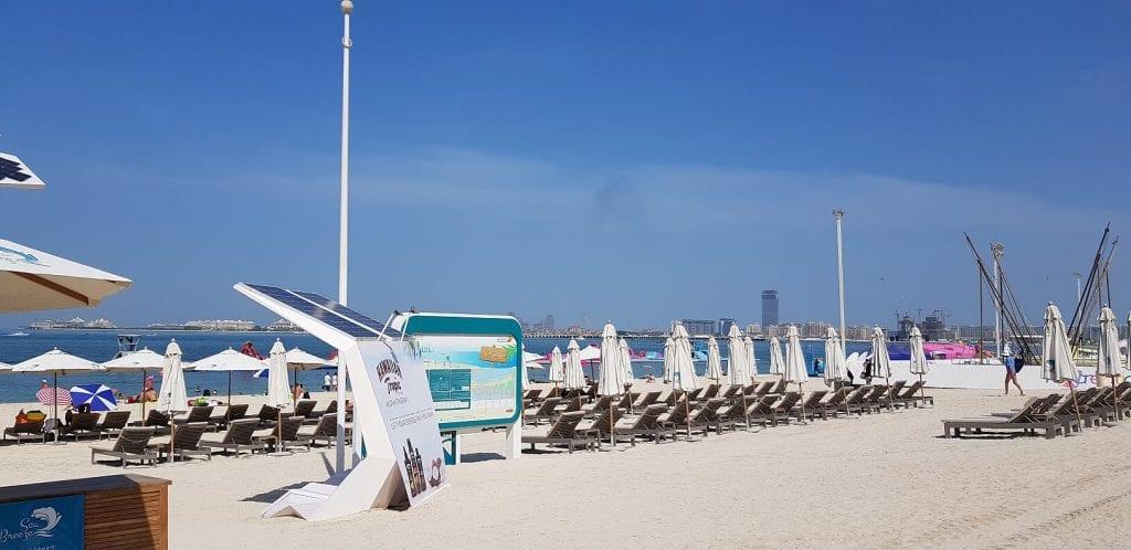 jbr beach dubai too hot