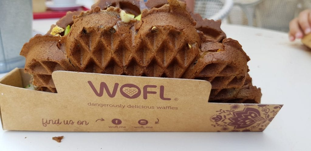 Wofl for the best waffles in Dubai