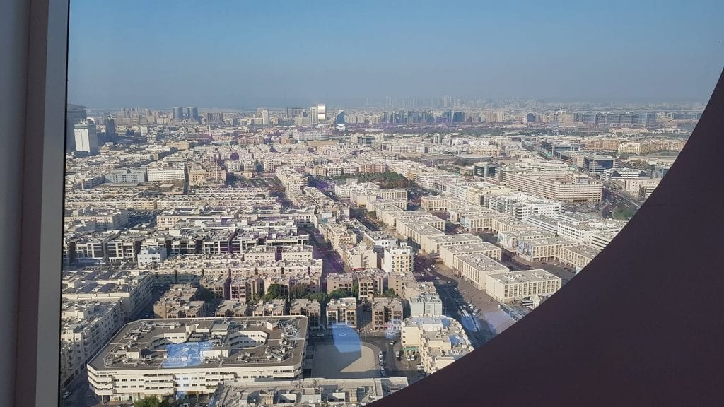 Old Dubai - View from The Frame