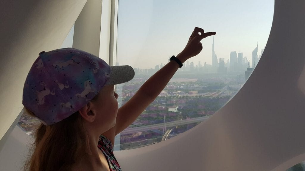Touch the tip of the Burj Khalifa from The Frame Dubai